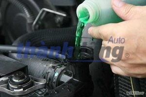 Lưu ý khi sử dụng nước làm mát cho ô tô