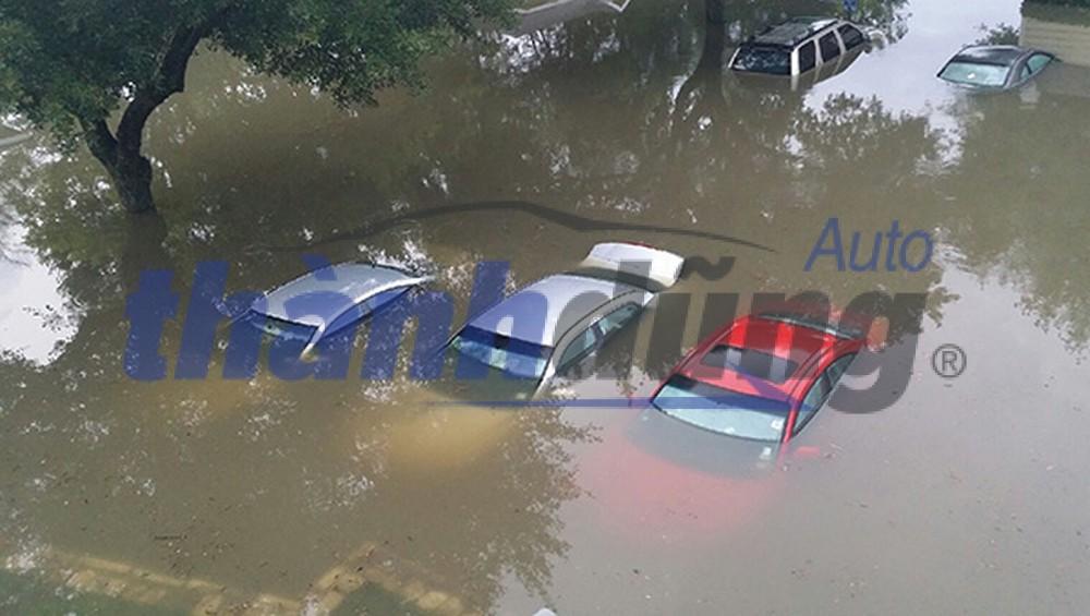 Những dấu hiệu nhận biết xe bị thủy kích